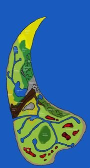 New Map of Dinosaur Island