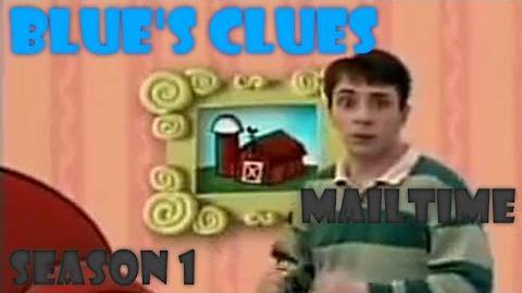 """Blue's Clues """"Mailtime"""" (Season 1) Version-0"""