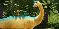 Allie alamosaurus