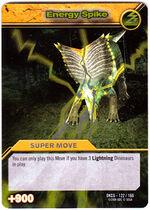 Energy Spike TCG Card 1-Silver 1a