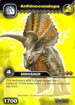 Arrhinoceratops TCG Card