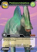 Parasaurolophus TCG card