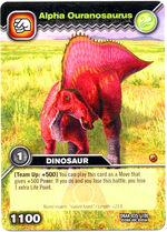 Ouranosaurus Alpha TCG Card