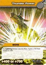 Thunder Power TCG Card