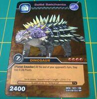 Saichania-Massive TCG Card 1-Gold (French)
