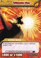Ultimate Fire TCG Card (German)