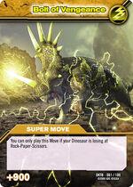 Bolt of Vengeance TCG Card