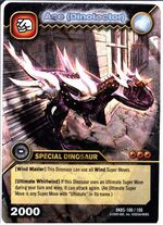 Carnotaurus - Ace DinoTector TCG Card 2-DKDS-Collosal (German)