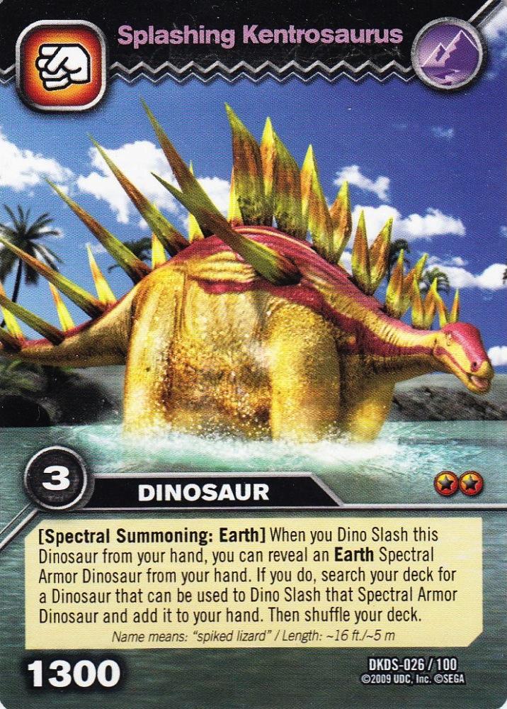 Kentrosaurus Dinosaur King Image - Kentrosaurus-S...
