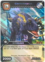 Carnotaurus TCG Card 2-Collosal