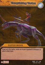 Vanquishing Vortex TCG Card 1-Gold