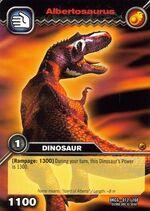 Albertosaurus TCG card