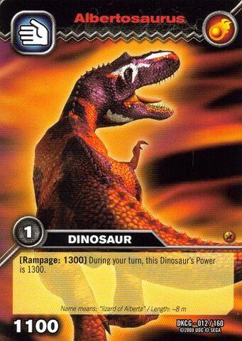 File:Albertosaurus TCG card.jpg