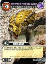 Pinacosaurus-River TCG Card (French)