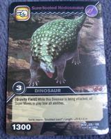 Nodosaurus-Sure-footed TCG Card 1-Silver