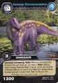 Dicraeosaurus-Swamp TCG Card (German)