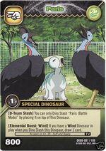 Parasaurolophus - Paris TCG Card 3-DKBD
