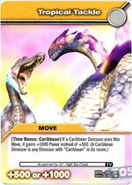 Tropical Tackle TCG Card (French)