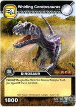 Ceratosaurus-Spinning TCG Card (French)