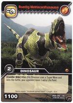 Metriacanthosaurus-Roaring TCG Card
