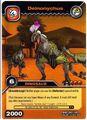Deinonychus TCG Card 1-Gold (German)