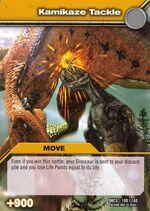 Kamikaze Tackle TCG Card 1