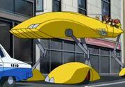 Dr. Owen's car (raised)
