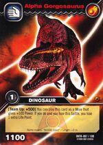 Gorgosaurus Alpha TCG Card