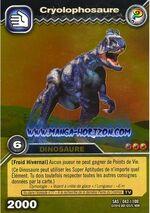 Cryolophosaurus TCG Card (foreign)