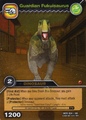 Fukuisaurus-Guardian TCG Card 1-Gold