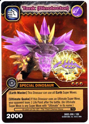 File:Saichania - Tank DinoTector TCG Card 1-DKDS-Gold.png