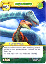 Big Backup TCG Card 1-Silver