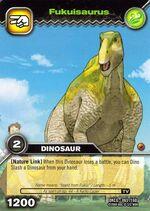 Fukuisaurus TCG Card