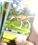 DKJC Indosuchus TCG card