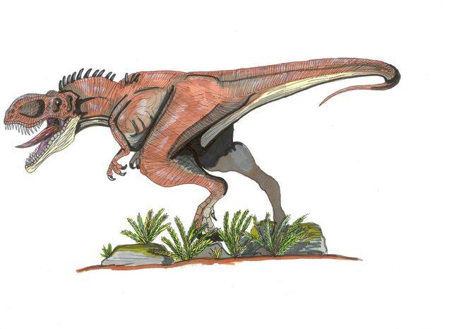File:Dryptosaurides horridus by hellraptor.jpg