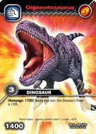 Giganotosaurus TCG Card