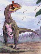 Cryolophosaurus DB
