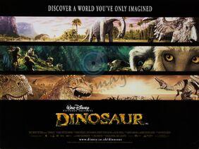 Dinosaur disney poster