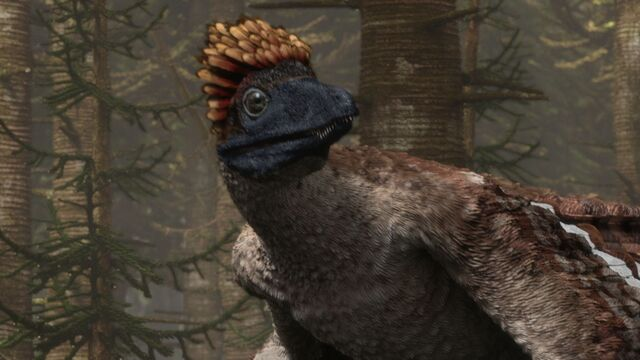 File:Microraptor (Planet Dinosaur).jpg