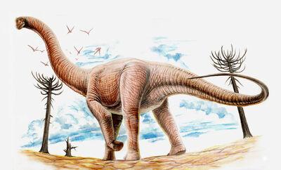 Argentinosaurus by Gonzalezaurus