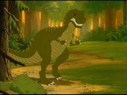Giganotosauro di valle incantata 5