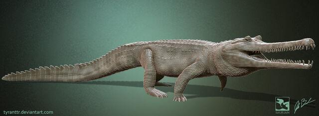 File:Thoracosaurus saurian by tyranttr-dac0njg.jpg