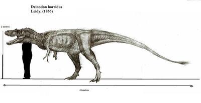 Deinodon horridus by teratophoneus-d53s2d6
