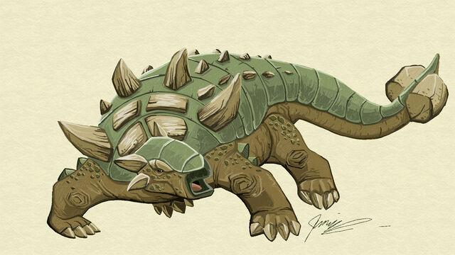 File:Fresh paint ankylosaurus by chief orc-d5pxslt.jpg