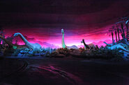 Brontosauruses at Disney World