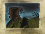 Fantasia Parasaurolophus concept art