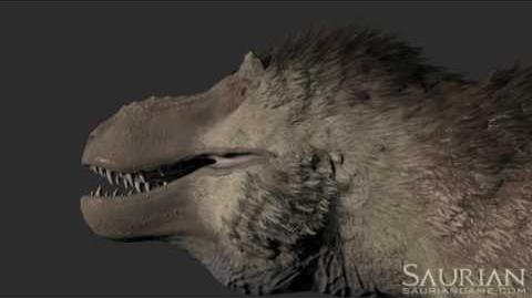 Saurian Tyrannosaurus New Audio Demonstrations (Realistic Dinosaurs)