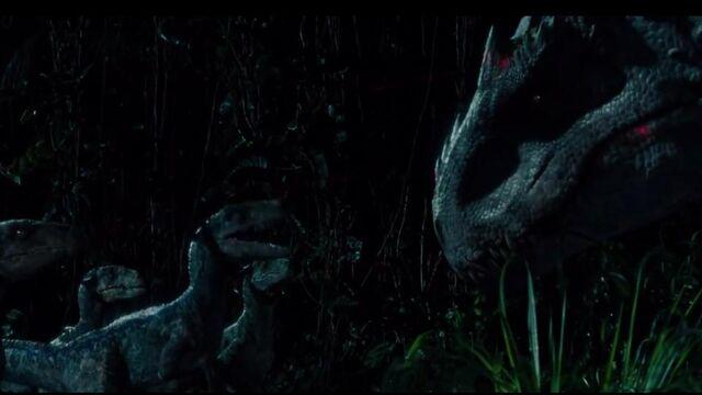 File:Raptors-talking-with-Indominus.jpeg