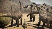 Cedarosaurus herd dinosaur revolution