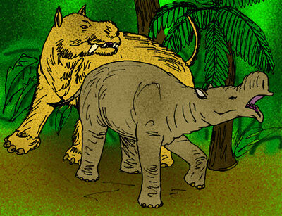 Hypercoryphodon and gobiatherium